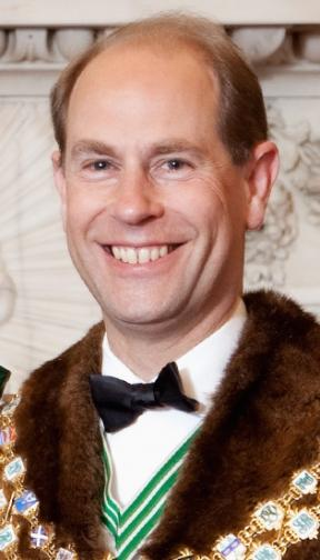 HRH The Earl of Wessex KG, GCVO