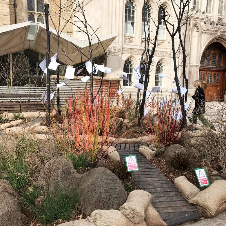 A very special garden in the Guildhall Yard