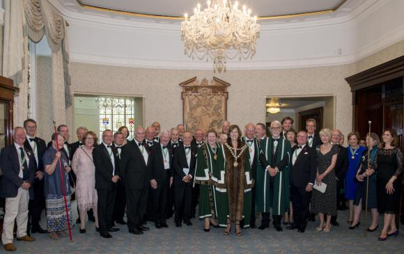 Master, Wardens, Assistants and Stewards
